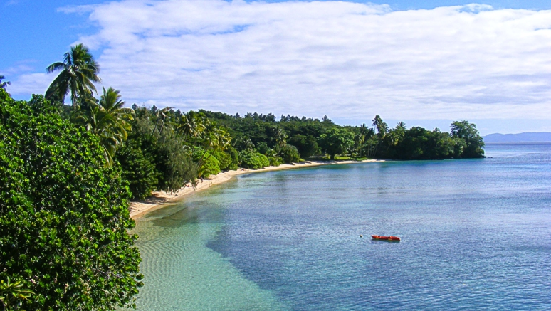 Beach on Fiji Island