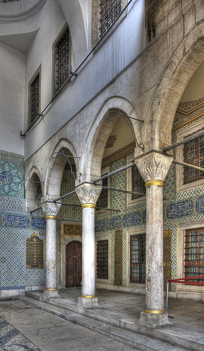 Harem in Topkapi Palace (Istambul)