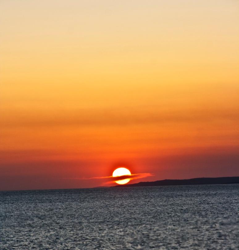 Sunset on Marmara Sea (Turkey)