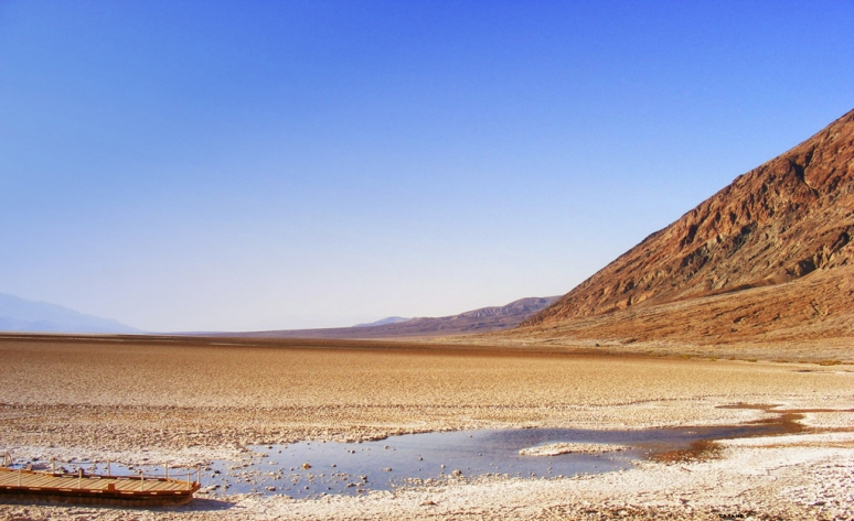 Badwater at Death Valley (USA)