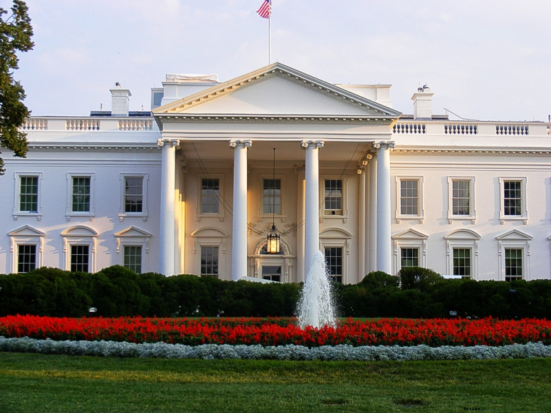 The North Portico of the White House (Washington)