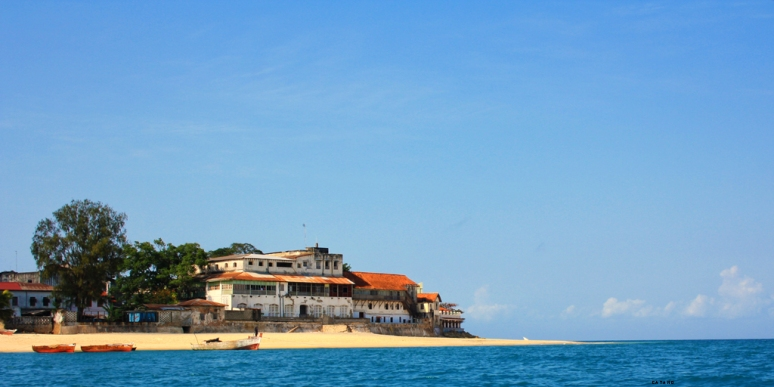 The end of Stone Town