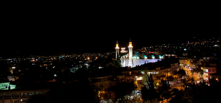 Night in Bursa (Turkey)