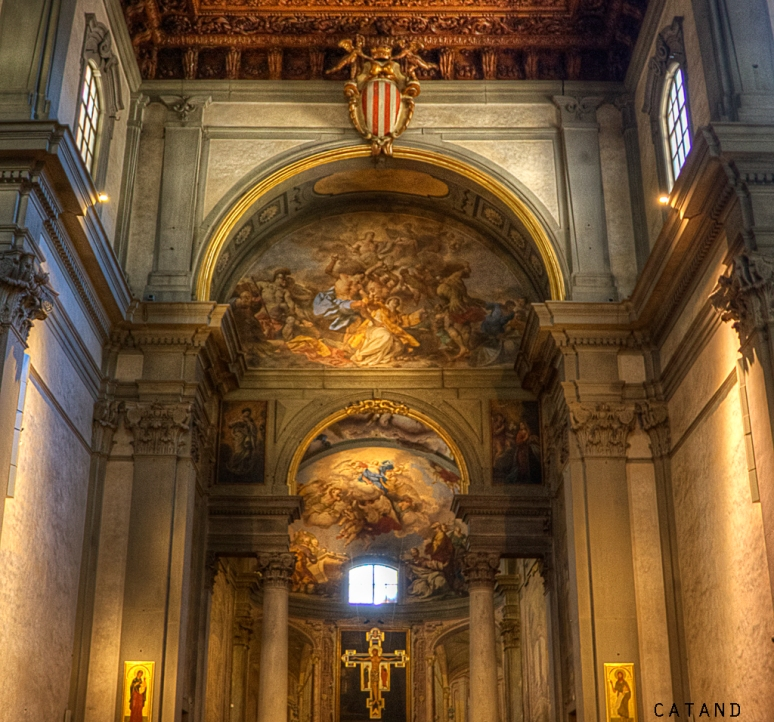 Inside a Church (Florence)