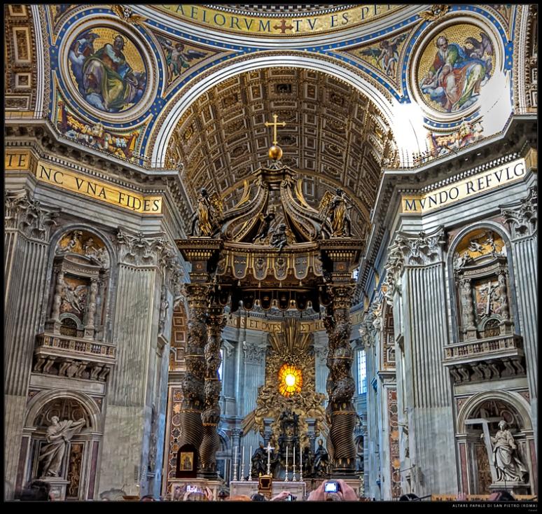 St. Peter's baldachin (Rome)