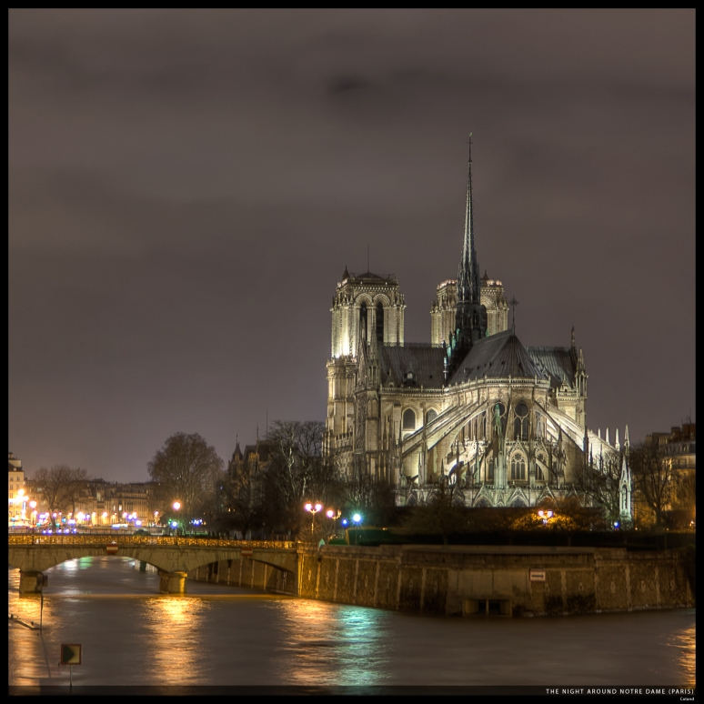 The night around Notre Dame