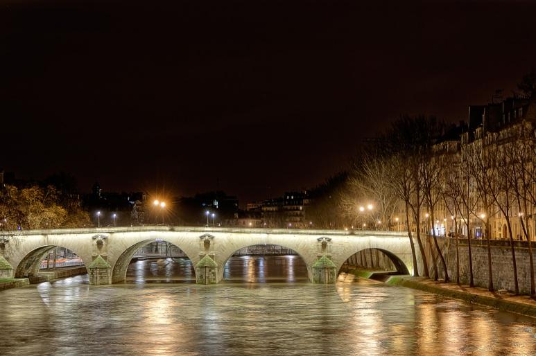 Bridge on the Seine - Paris