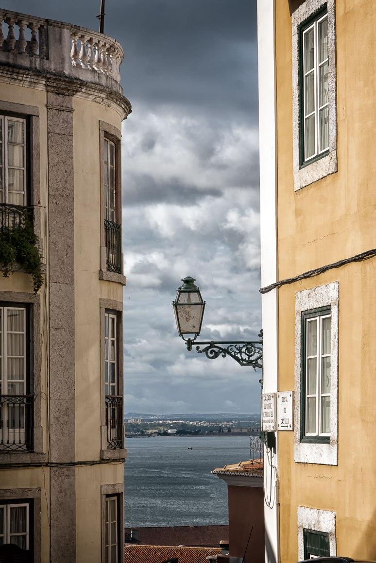 Between Buildings, Toward The Sea