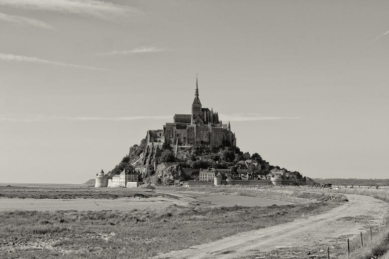 Le Mont Saint-Michel in Normandy