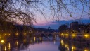 Sunset on the Tiber